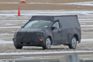 2021 Ford Courier spy