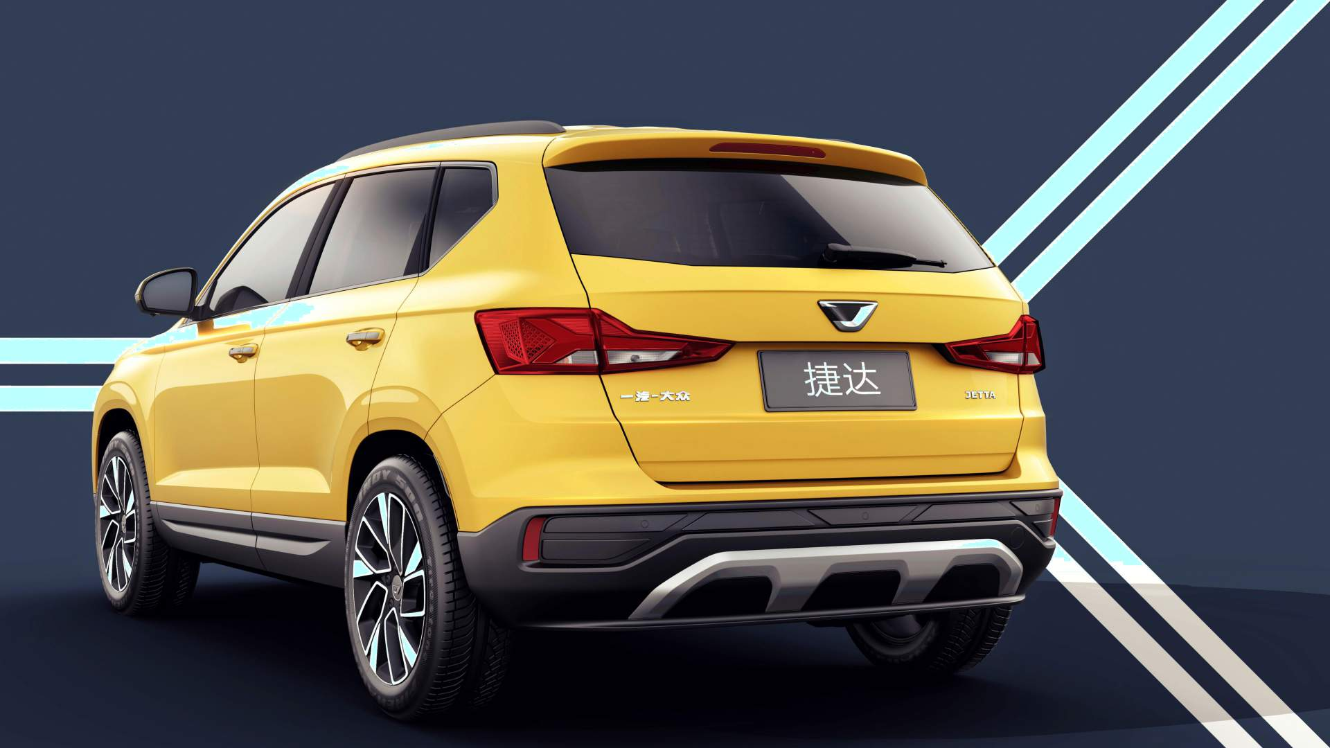 Jetta VS5 Compact Crossover render rear