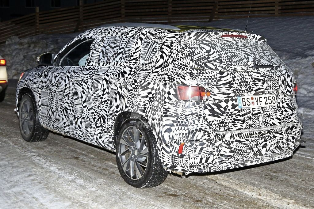 Jetta VS5 Compact Crossover spy rear