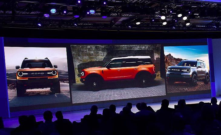 2020 Ford Bronco Scout - baby bronco leaked