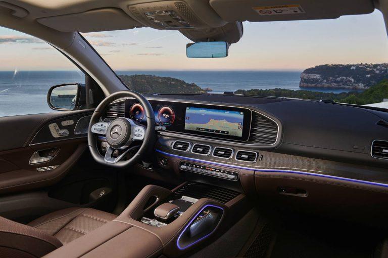 2020 Mercedes-Benz GLS cockpit