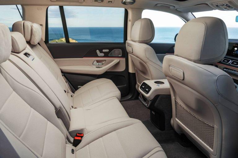 2020 Mercedes-Benz GLS rear seats