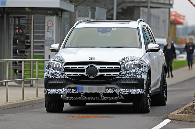 2020 Mercedes-Benz GLS spy