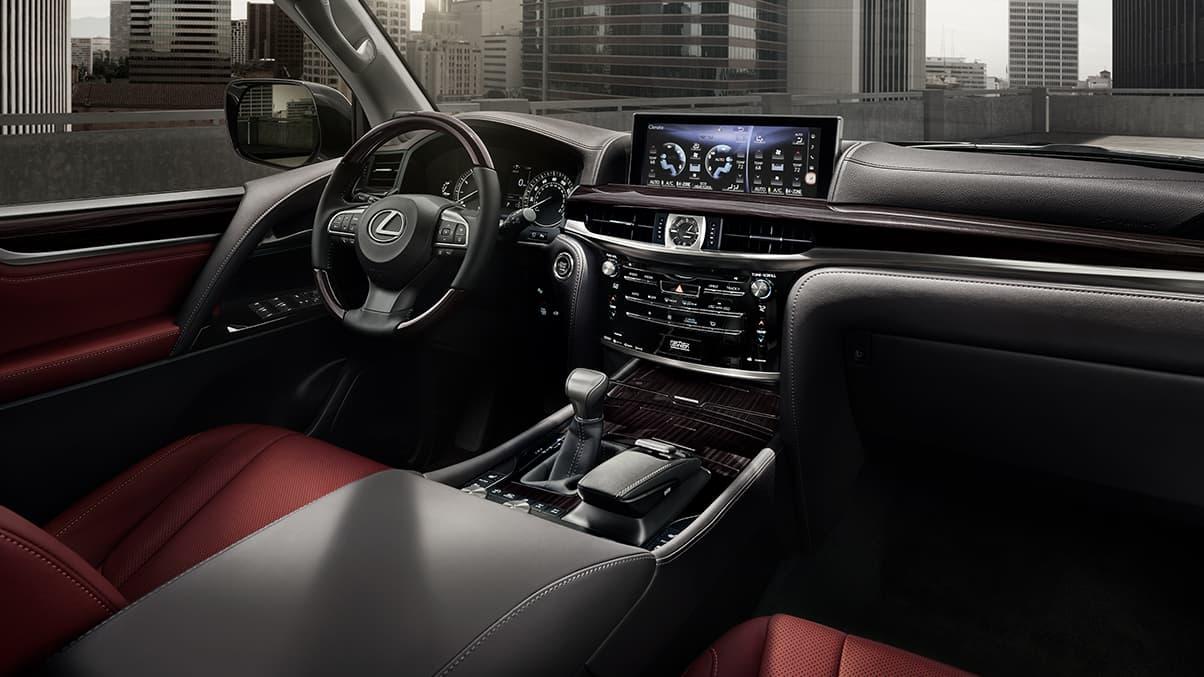 2021 Lexus LX cabin