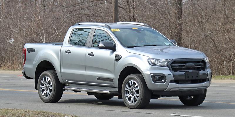 U.S.-specs 2020 Ford Ranger Diesel spy