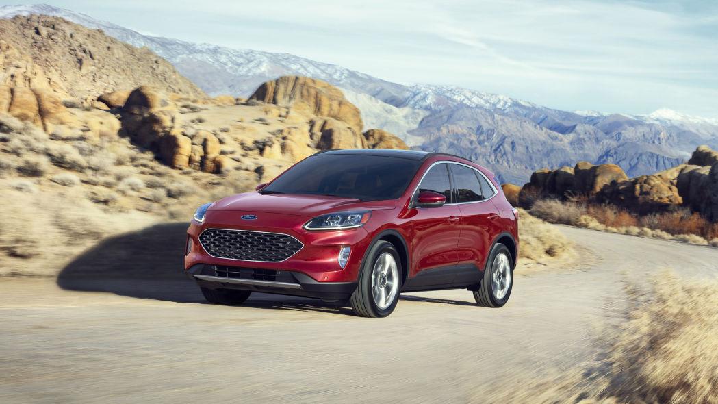 fourth-generation 2020 Ford Escape
