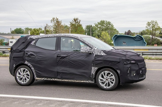 2021 Chevrolet Bolt Euv Electric Suv Spied Testing Suvs Trucks