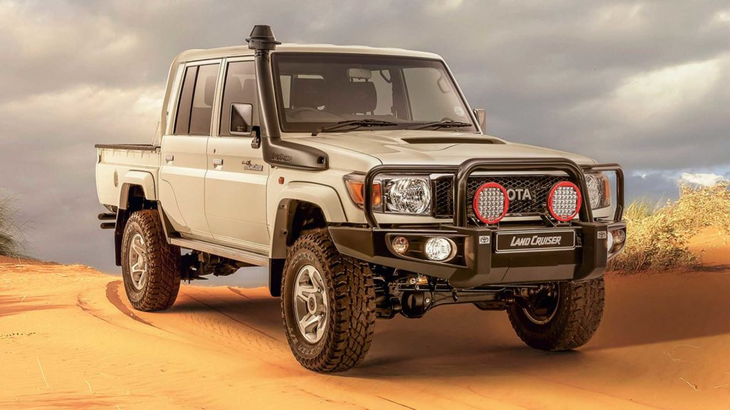 Toyota Diesel Pickup >> 2020 Toyota Land Cruiser 79 Namib Is One Outstanding Diesel